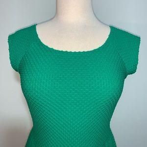 Xhilaration Dresses - Emerald green textured dress
